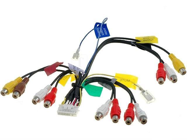 AV kabel 1 pro autorádio autorádio Pioneer AVIC - Autoradia-Hifi.cz