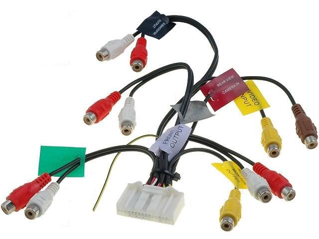 AV kabel 2 pro autorádio Pioneer AVIC 4CARMEDIA - Autoradia-Hifi.cz