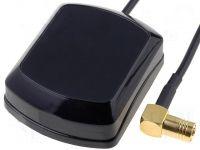 Anténa pro autorádia GPS s SMB konektorem