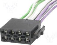 Konektor ISO - volné dráty do auta reproduktorová část