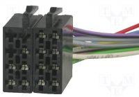 Konektor ISO - volné dráty do auta
