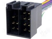 Konektor ISO - volné dráty na autorádio