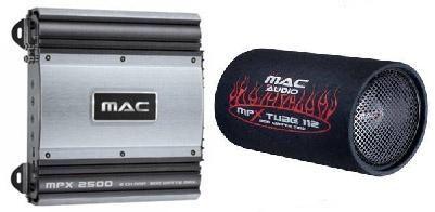 Subwoofer set Mac Audio Bass Leader 112 T + zesilovač MPX 2000 - Autoradia-Hifi.cz