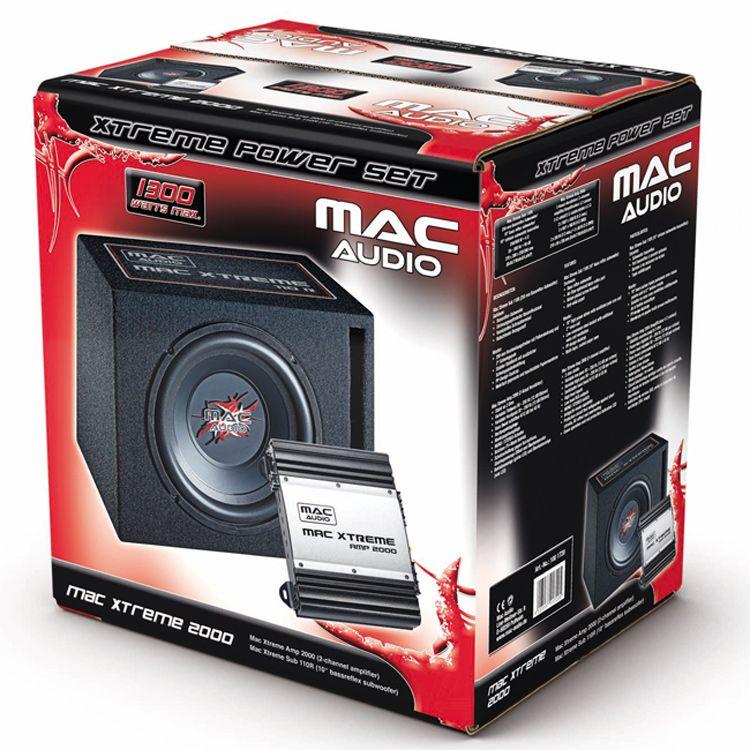 Subwoofer Set Mac Audio Mac Xtreme 2000 - Autoradia-Hifi.cz