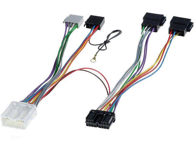 Kabelová redukce pro zapojení HF sady - Mitsubishi 4CARMEDIA - Autoradia-Hifi.cz