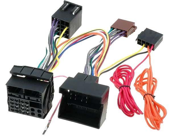 Kabeláž k připojení handsfree sady k autorádiu Audi, Seat, Škoda, VW 4CARMEDIA - Autoradia-Hifi.cz