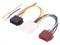 Kabelový adaptér Fiat, Mazda, Nissan, Opel, Renault automobil - ISO autorádio