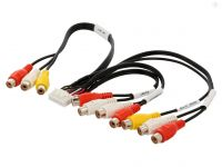 AV kabel 3 pro autorádio Kenwood KVT-512 4CARMEDIA - Autoradia-Hifi.cz