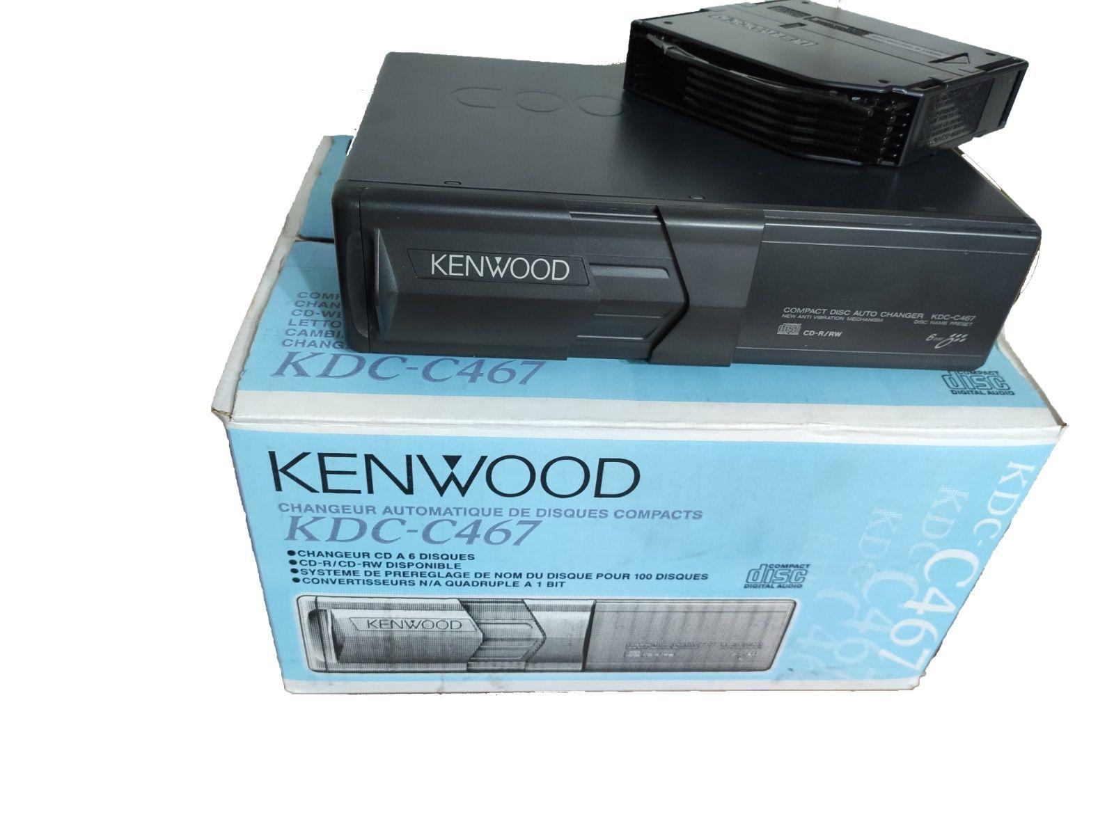 CD měnič Kenwood KDC-C467 - Autoradia-Hifi.cz