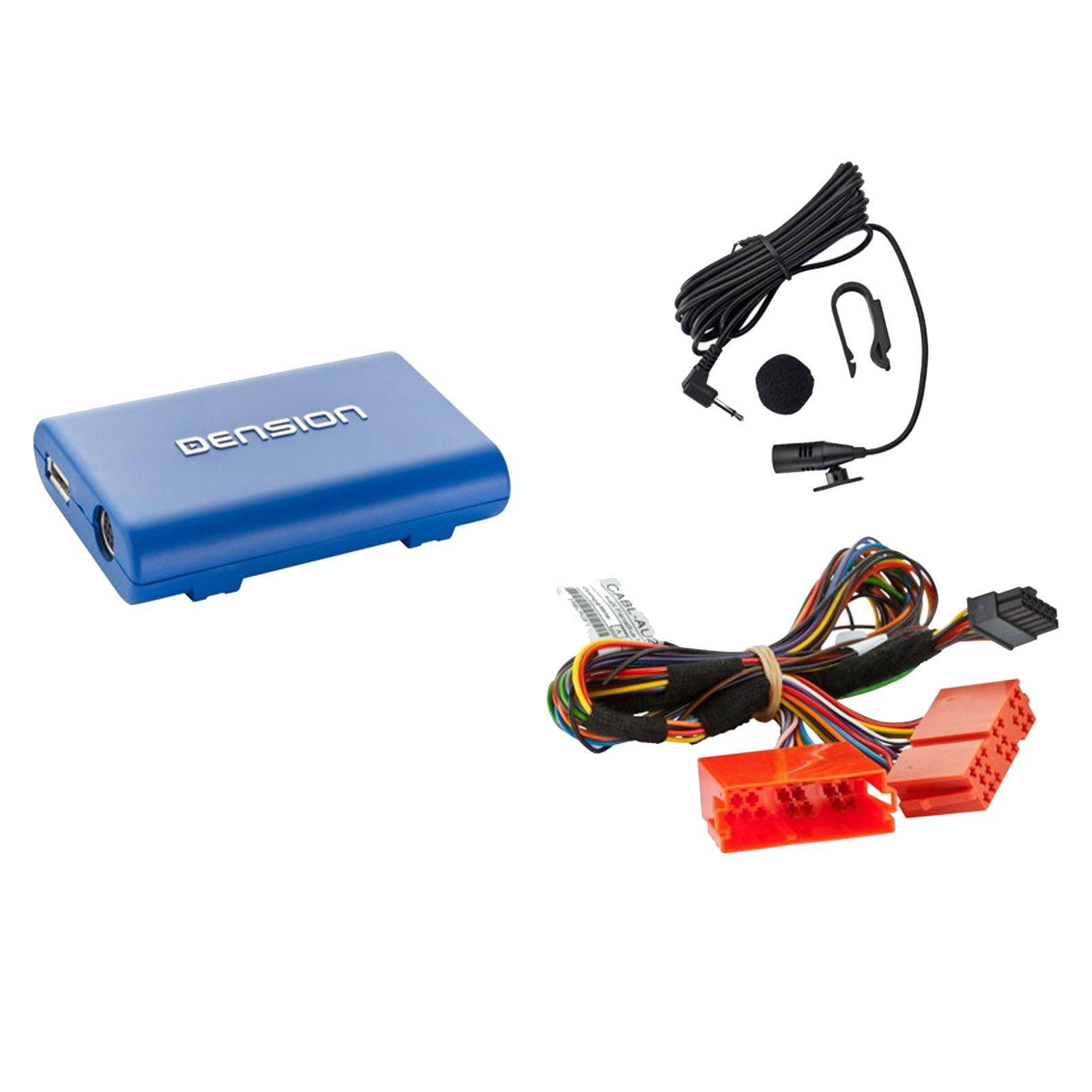 DENSION Lite3 BT HF sada + iPhone / iPod / USB vstup AUDI / SEAT - GBL3AU2 4CARMEDIA - Autoradia-Hifi.cz