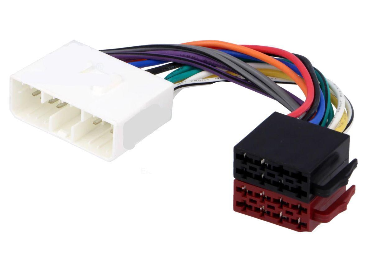 Kabelový adaptér Daewoo, SsangYong, Suzuki automobil - ISO autorádio 4CARMEDIA - Autoradia-Hifi.cz
