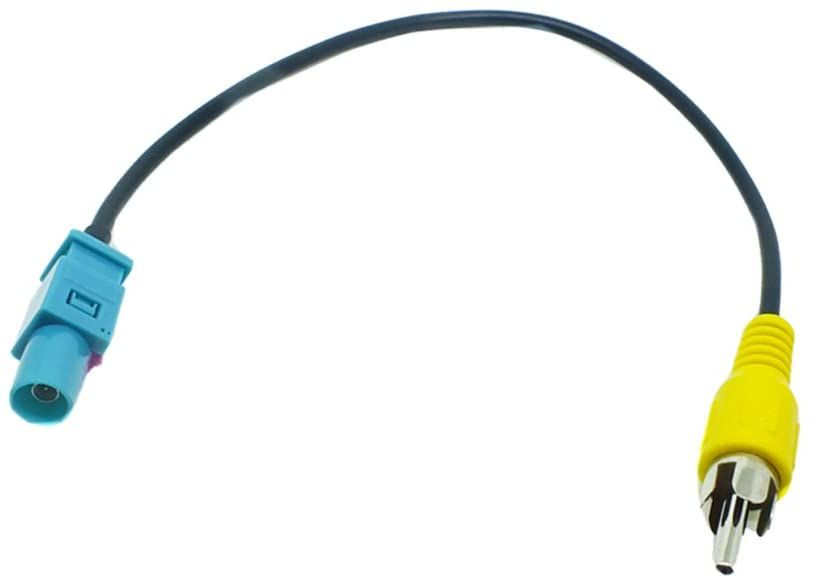 Kabelový adaptér vstupu couvací kamery Fakra na Cinch pro Ford, Škoda a VW 4CARMEDIA - Autoradia-Hifi.cz