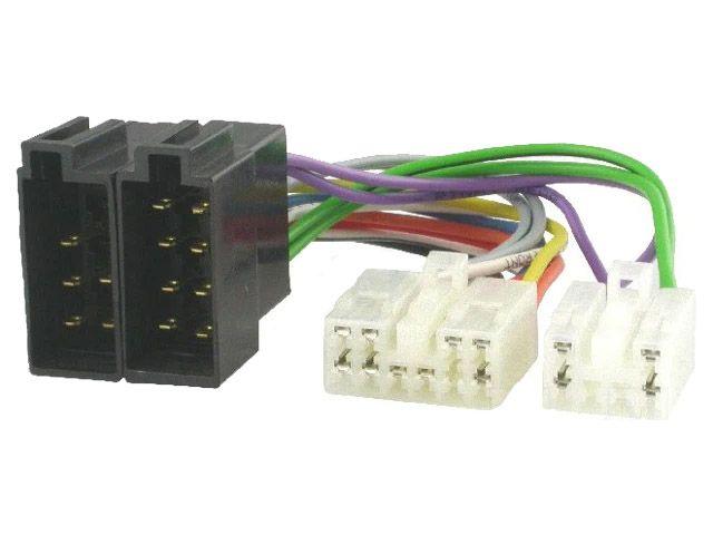 Kabelový adaptér Daihatsu, Lexus, Subaru, Toyota a VW autorádio - ISO 4CARMEDIA - Autoradia-Hifi.cz